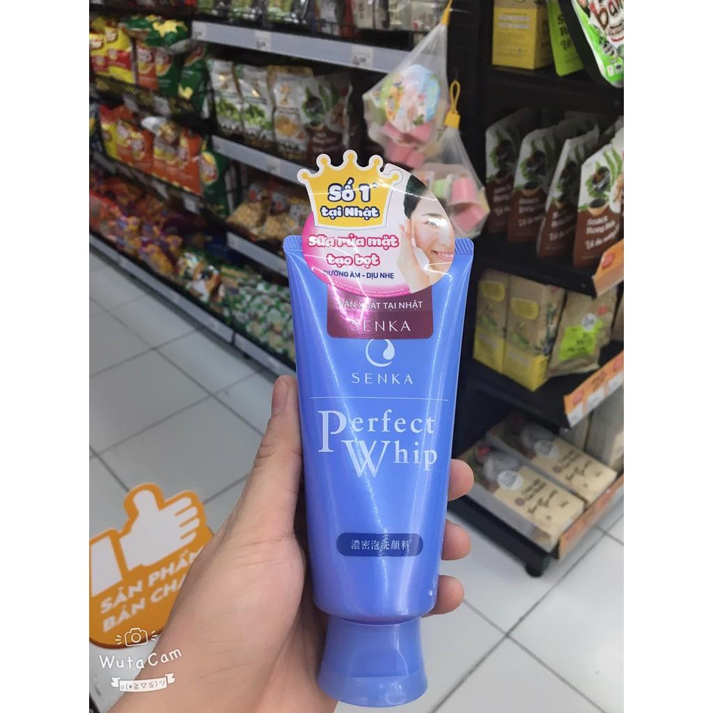 [ Chính Hãng] Sữa Rửa Mặt Shiseido Senka Perfect Whip Collagen In 120g