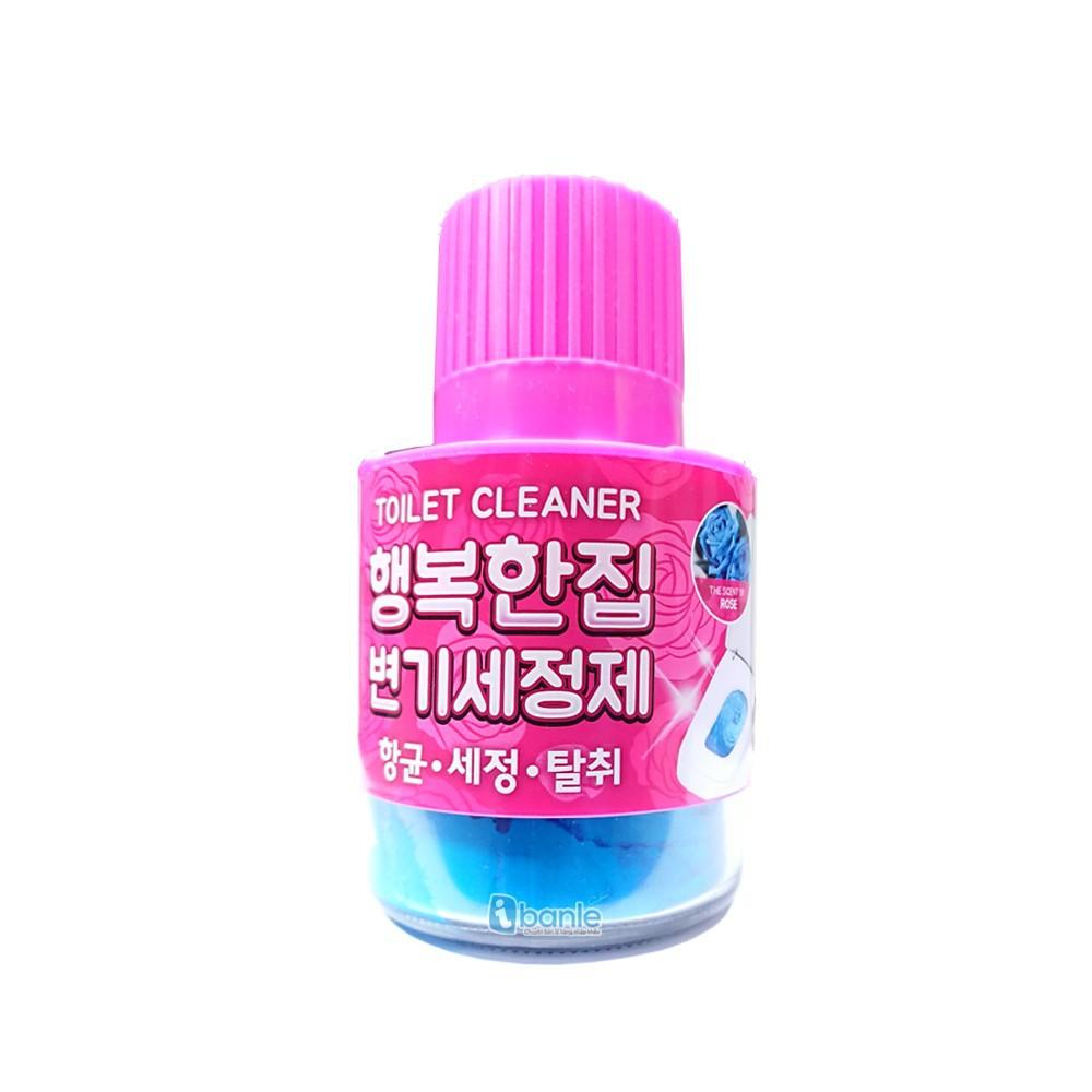 Chai thả bồn cầu khử khuẩn hương hoa hồng (mẫu mới 2018) - Hàn Quốc - 2757577 , 1054267869 , 322_1054267869 , 39000 , Chai-tha-bon-cau-khu-khuan-huong-hoa-hong-mau-moi-2018-Han-Quoc-322_1054267869 , shopee.vn , Chai thả bồn cầu khử khuẩn hương hoa hồng (mẫu mới 2018) - Hàn Quốc