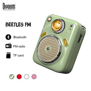 Loa Bluetooth Divoom-Beetles FM-Thiết kế siêu nhỏ,cổ điển, tích hợp FM radio và thẻ nhớ