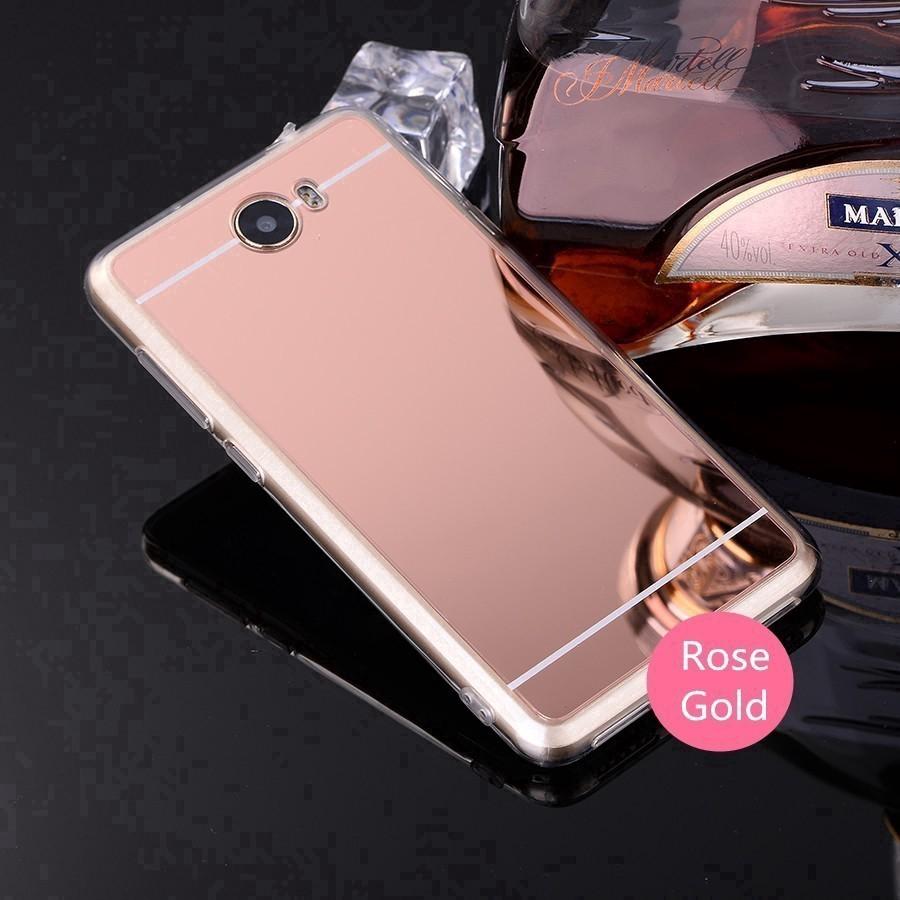 Ốp lưng TPU tráng gương siêu mỏng cho Huawei Y5II/Honor Play 5