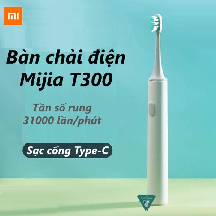 [CHÍNH HÃNG] Bàn chải điện Xiaomi Mijia T300 - Bàn Chải Đánh Răng Mijia T300