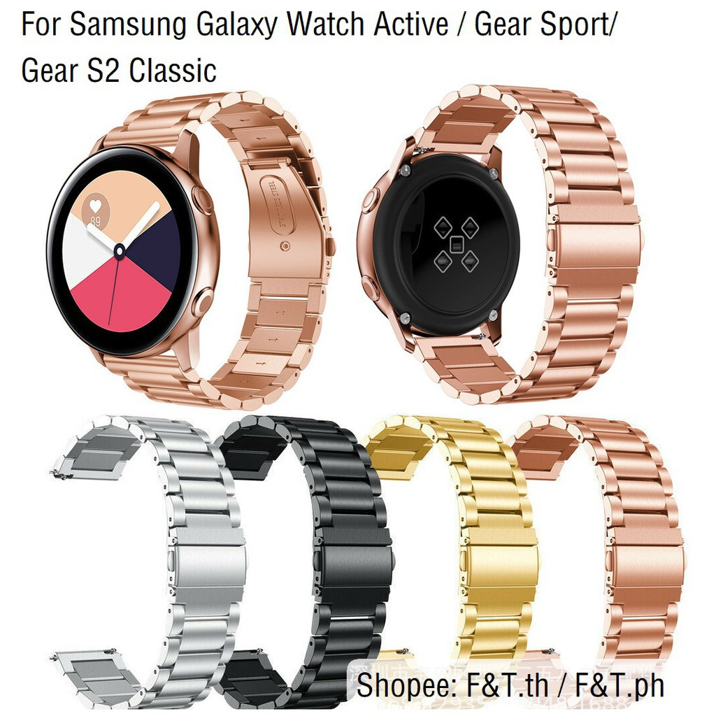 Luxurious Samsung Galaxy Watch Active Gear Sport/Gear S2 Classic WatchBand Strap