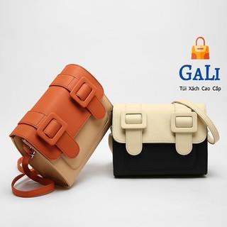 Túi xách nữ đeo chéo Cambridge chanh sả, túi nữ cao cấp thái lan hàng cao cấp GL66