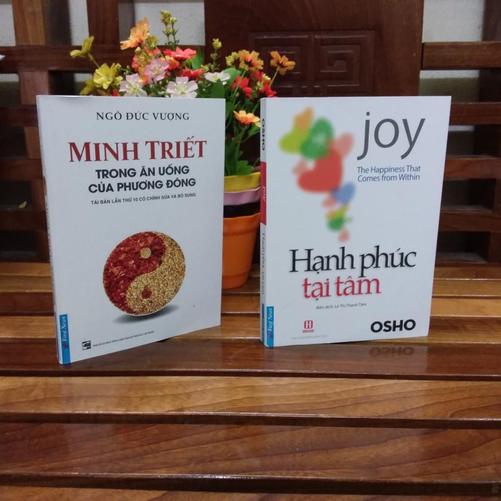 ( Sách Thật ) combo 2 cuốn sách -Hạnh Phúc Tại Tâm - Minh Triết Trong Ăn Uống Của Phương Đông - 8409 - 3517580 , 1142178636 , 322_1142178636 , 203000 , -Sach-That-combo-2-cuon-sach-Hanh-Phuc-Tai-Tam-Minh-Triet-Trong-An-Uong-Cua-Phuong-Dong-8409-322_1142178636 , shopee.vn , ( Sách Thật ) combo 2 cuốn sách -Hạnh Phúc Tại Tâm - Minh Triết Trong Ăn Uống C