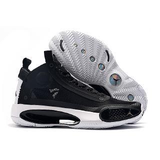 """[Với hộp] Giày bóng rổ Air Jordan 34 """"Eclipse"""" Đen Trắng 2020 Chính hãng Dành cho Nữ"""