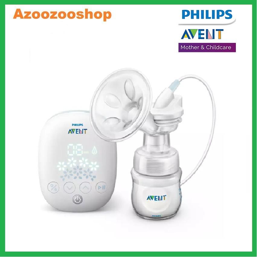 Máy hút sữa điện đơn Philips Avent cao cấp, 4 chế độ hút sữa, không chứa BPA, hàng chính hãnh Philips Avent