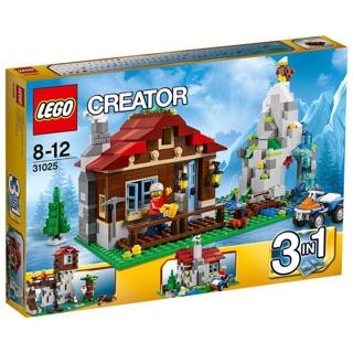 Lego creator 31025 (550pcs)- Nhà trên núi