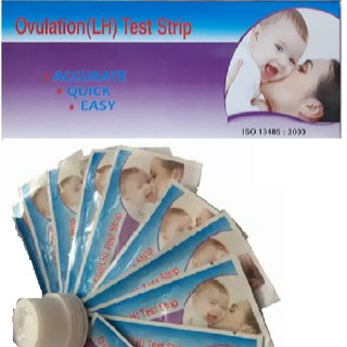 Combo 6 Que Test Rụng Trứng Ovulation (LH) Test Strip