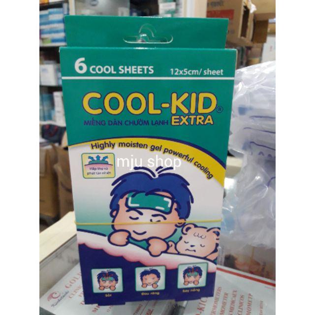 Miếng dán hạ sốt Cool Kid extra hộp 6 miếng