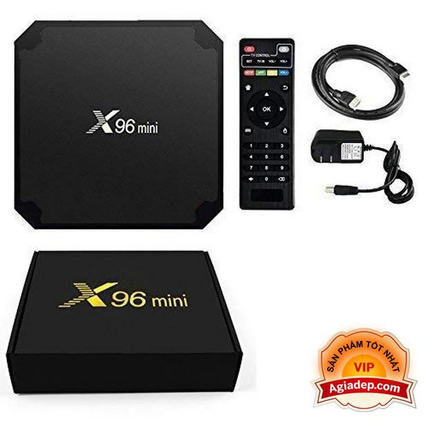 TV Box xịn X96 2G 16G  tích hợp FPT play - Tivibox cấu hình mạnh - TV Box Truyền hình miễn phí