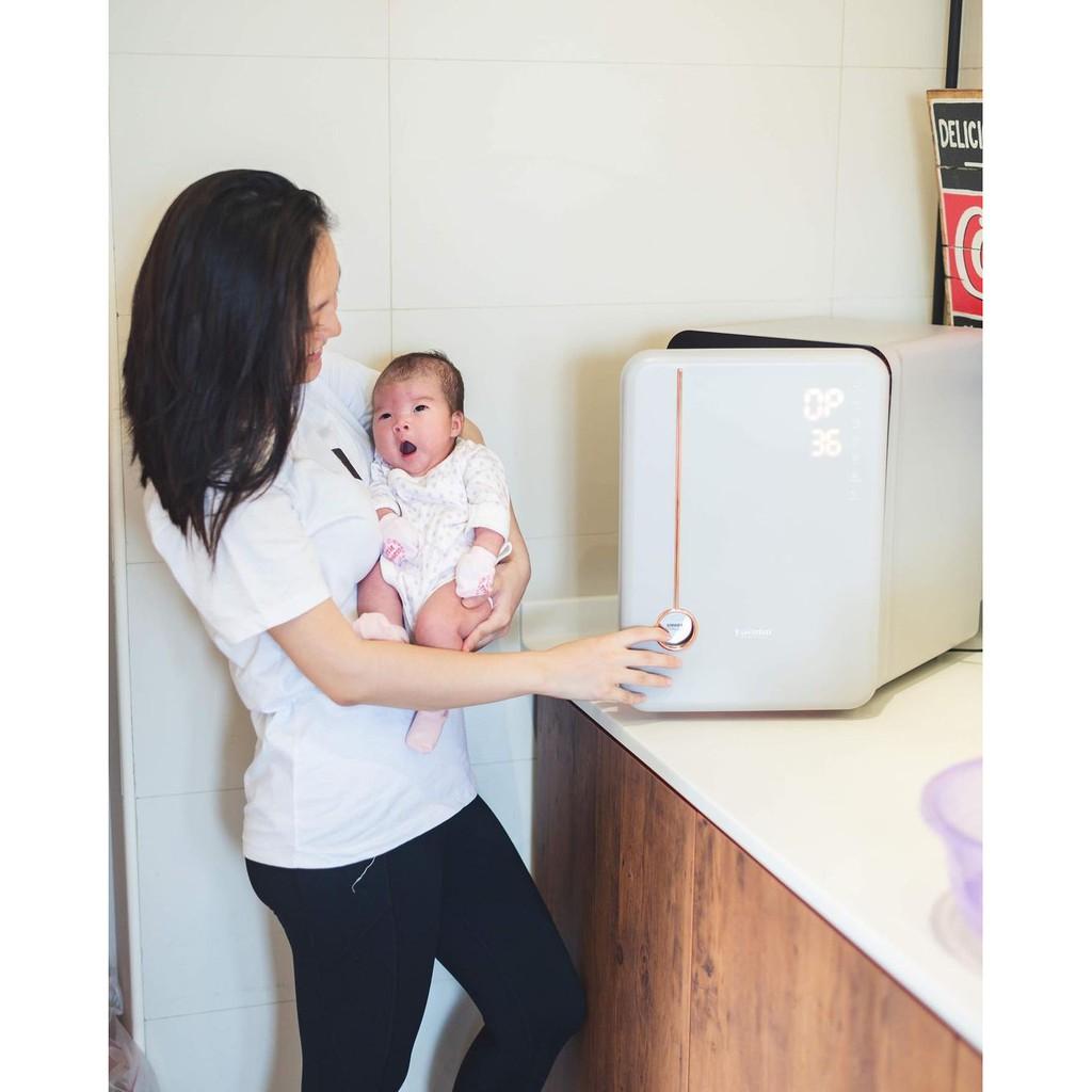 BH 3 năm chính hãng] Máy tiệt trùng sấy khô bình sữa Haenim 4 UV - UV LED  diệt khuẩn tối ưu giảm chỉ còn 6,290,000 đ