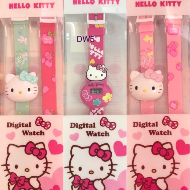 นาฬิกาคิตตี้ ของแท้ ลิขสิทธิ์ 💯% Kitty Digital Watch