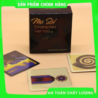 [Trợ giá] Combo Ma Sói Characters Việt Hóa + Bọc Bài (Phiên bản mới)_Hàng chất lượng cao