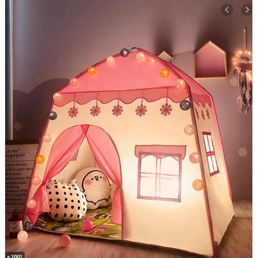 Lều ngủ công chúa , hoàng tử cho bé trai bé gái (kt130x100x1