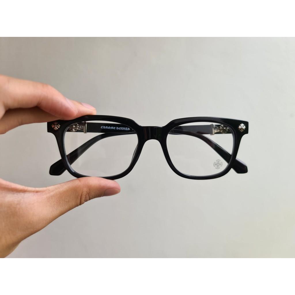 Kính mắt thời trang – Kính mắt thời trang cận loạn Unisex Cox nhựa Acetate – COX01 – Màu đen