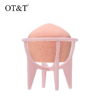 Mút trang điểm OT&T thích hợp trang điểm khô và ướt kèm giá đỡ thumbnail