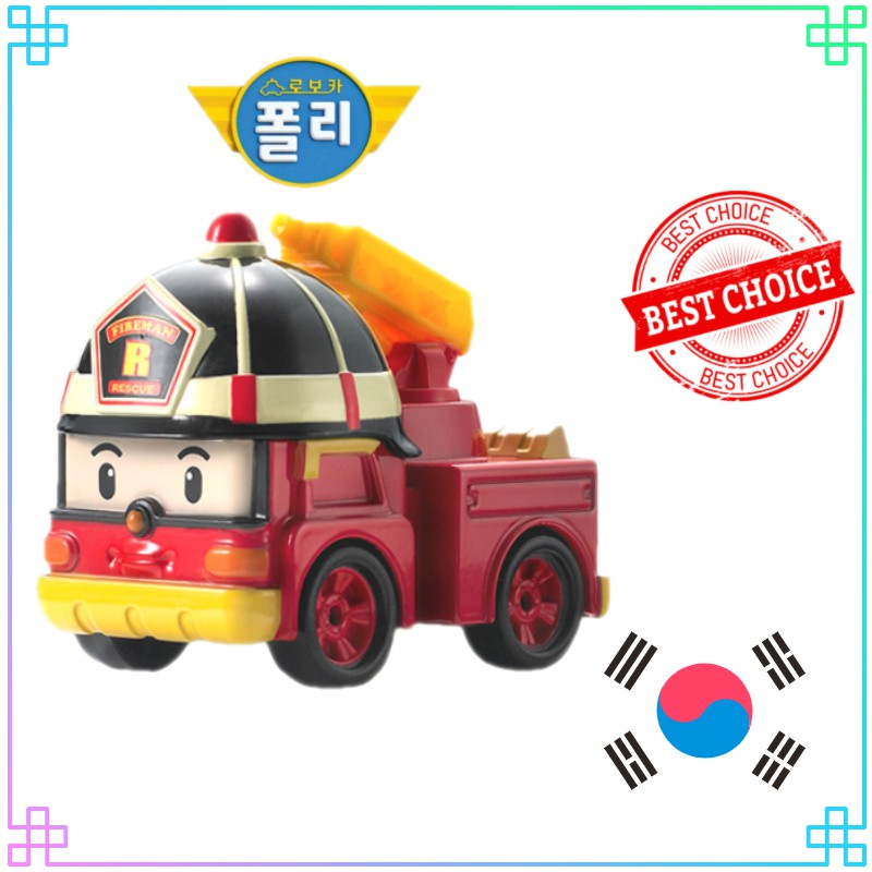 > Robocar Poli DieCasting Series – Roy(Premium Kids Toy) – Đồ chơi trẻ em cao cấp