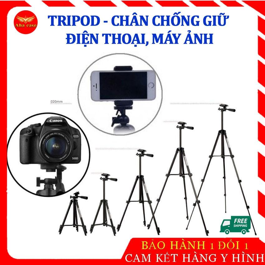 [FREESHIP] Tripod giá đỡ điện thoại, máy ảnh chụp hình, quay clip, livestream đa năng tiện lợi, tripod dựng 3 chân