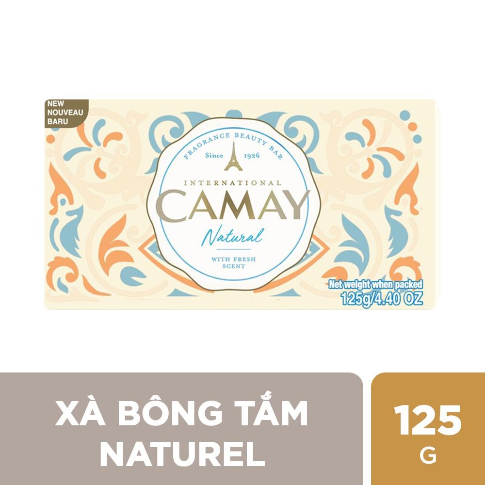 Xà bông tắm Camay Naturel 125g