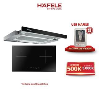 [PROMO] Máy Hút Mùi Âm Tủ HAFELE HH-TG90E (90cm) + Bếp Từ 2 Vùng Nấu Hafele 770x450mm HC-IS772EA