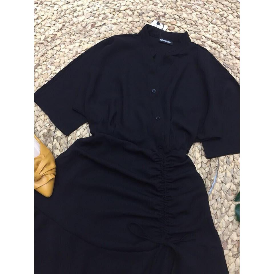[Mã WASTGO hoàn 10% xu đơn 99k] Đầm dáng xòe đắp chéo dây rút thân váy manri dress cực xinh | BigBuy360