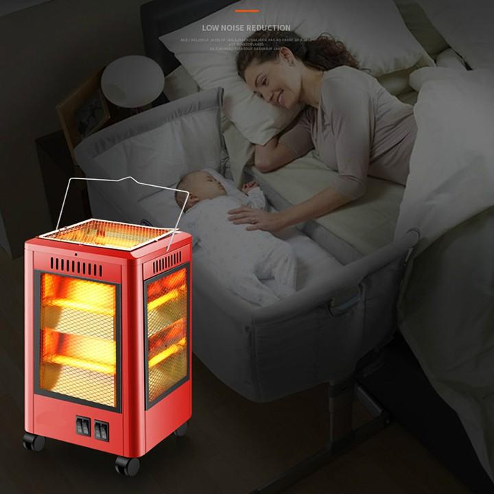 RE0352 Lò sưởi điện 5 mặt có khay nướng đồ - Lò nướng điện - Máy sưởi - Quạt sưởi