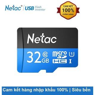 [Mã ELFLASH5 giảm 20K đơn 50K] Thẻ nhớ Netac MicroSD 32GB,64GB,128GB-Bảo hành 36 tháng