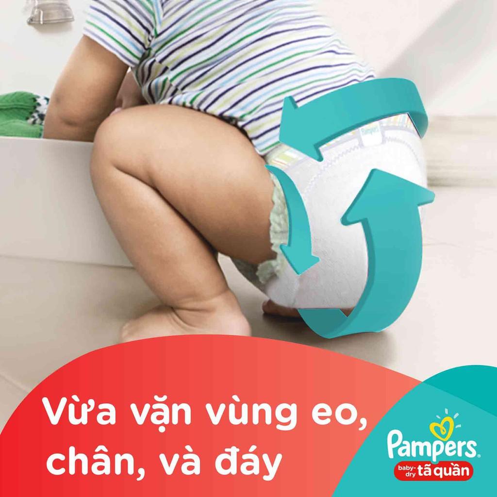 Hình ảnh [HCM]Tã Quần Pampers Baby-Dry bịch Jumbo đại đủ size M60/L54/XL48-5
