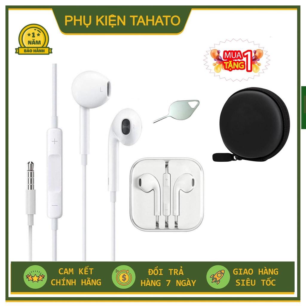 Tai nghe iPhone BÓC MÁY 6/6s Apple EarPods lightning Bảo Hành 12 Tháng