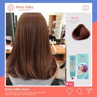 Thuốc nhuộm tóc màu nâu tây Molokai 60ml M41 - Pretty Valley Store thumbnail