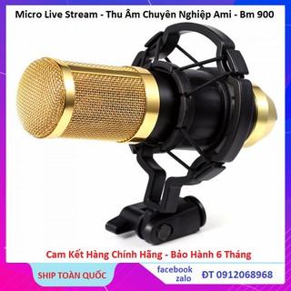 Micro Thu Âm BM900 - Micro Karaoke - Thu Âm - Hát Live - Cao Cấp Chính Hãng Bảo Hành 6 Tháng thumbnail