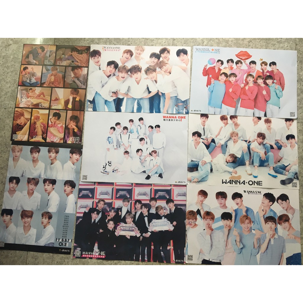 Poster A3 WANNA ONE