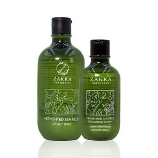 Combo làm sạch, dưỡng ẩm sâu phục hồi da Nước Tẩy trang 500ml và Tinh chất tảo biển 300ml Zakka Naturals thumbnail