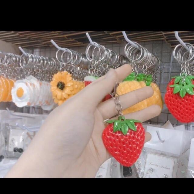 Móc khoá hoa quả siêu Cute