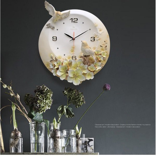 Đồng hồ treo tường nghệ thuật BH09_