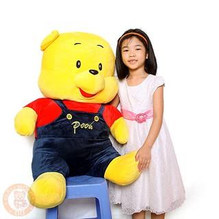 (FreeShip) Gấu bông gấu pooh size lớn nhất 1m2
