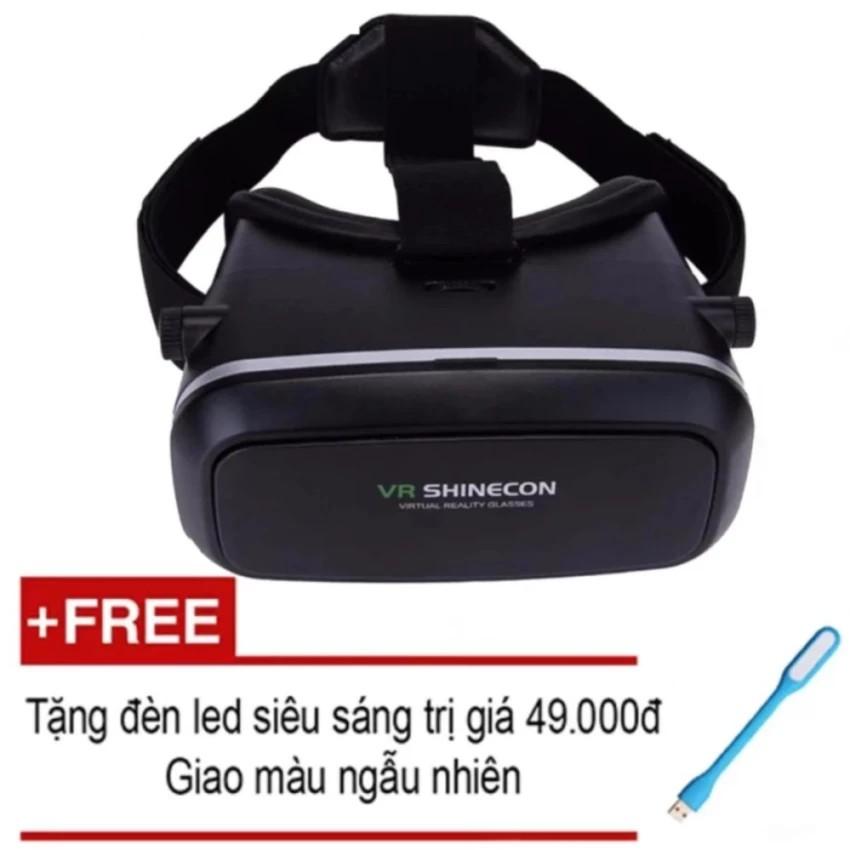 Kính thực tế ảo VR Shinecon + tặng kèm đèn led usb siêu sáng