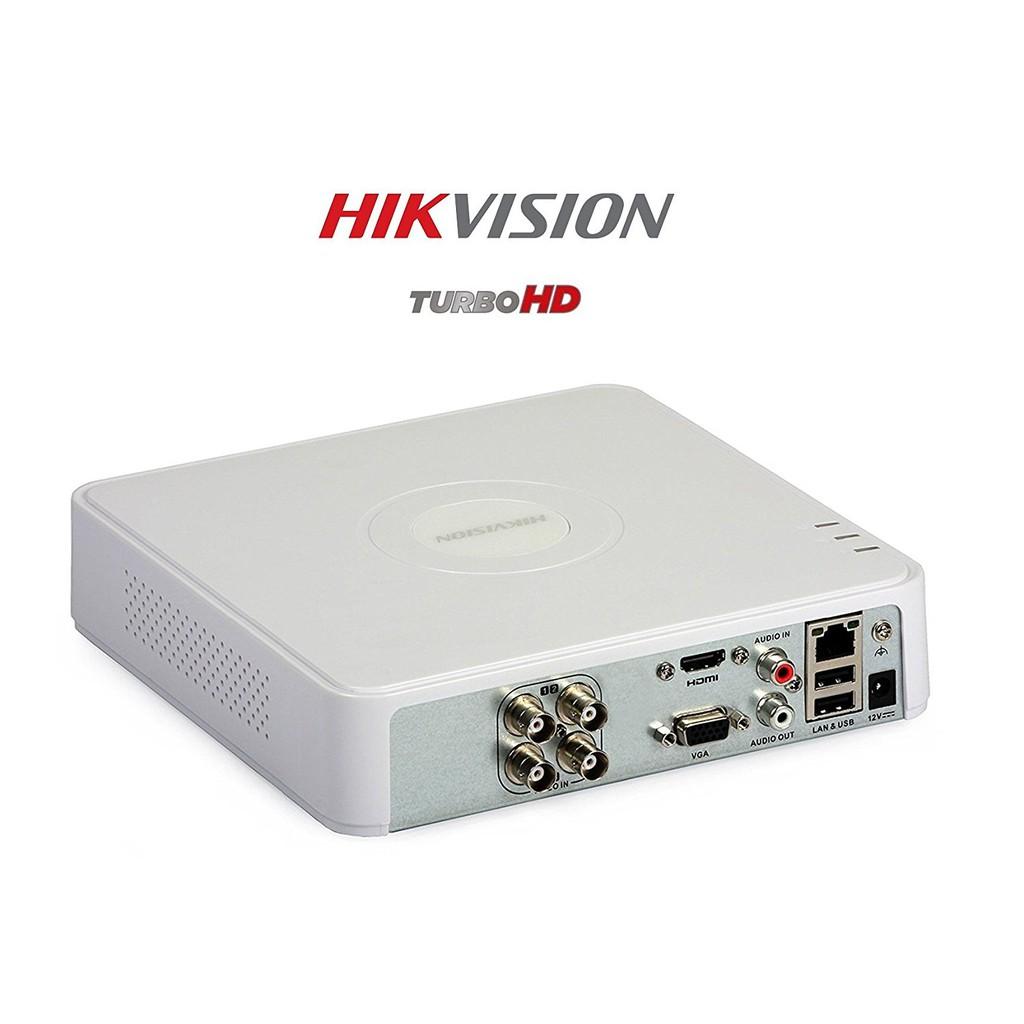Đầu ghi hình Hikvision 4 kênh DS-7104HGHI-F1 (Trắng)