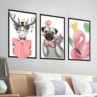 Wall stickers simple picture frame personality living room bedroom wall simple N
