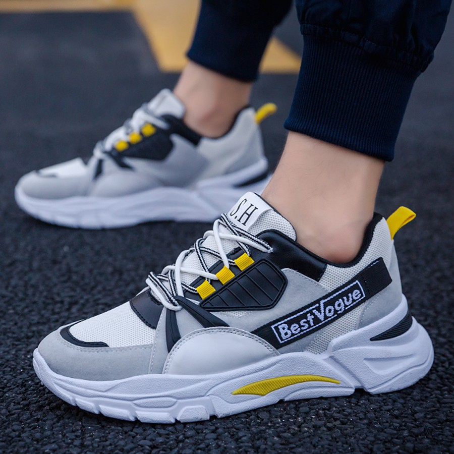 Giày thể thao nam 2020 - Tăng chiều cao 3 cm - Giày sneaker nam 2020  - KV01