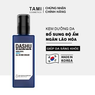 Kem dưỡng da cho nam DASHU Mans Aqua Real Moist All In One 153ml KD01