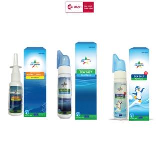 Bộ 3 Dung dịch vệ sinh mũi người lớn sea salt STAR DANAPHA 80ML Chai thumbnail