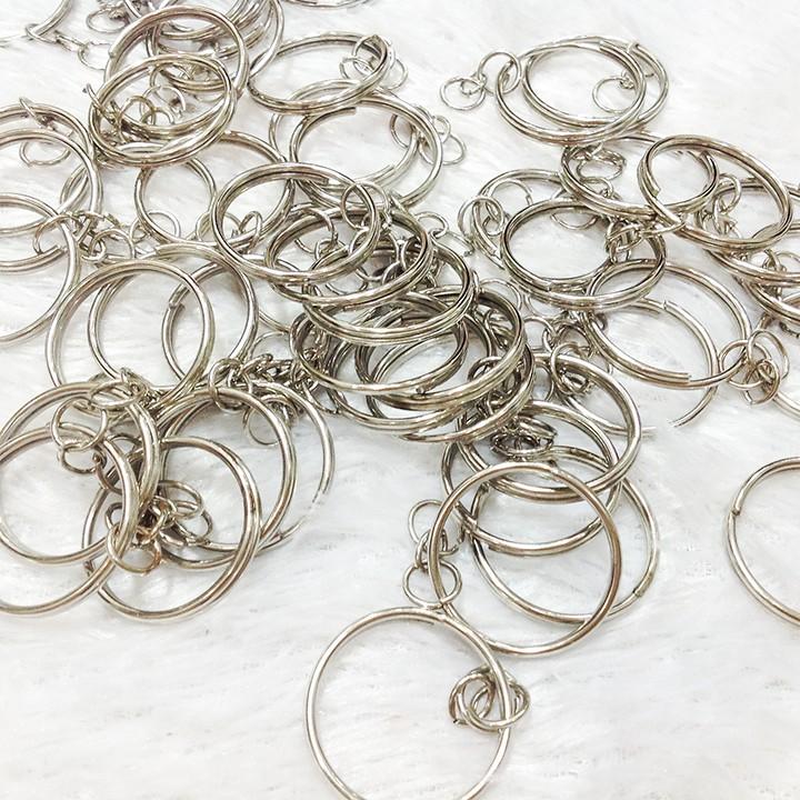 Phụ kiện móc khóa kim loại size 2.5cm (có bán sỉ)