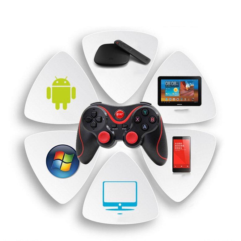 [Mã CBEL06 giảm 20% đơn 50k] Tay cầm chơi game không dây T3 chuyên dụng cho Android/ Apple IOS