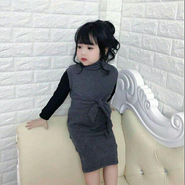 Váy maxi kèm áo cổ lọ cho bé gái size 8-22kg - 2604674 , 803103518 , 322_803103518 , 160000 , Vay-maxi-kem-ao-co-lo-cho-be-gai-size-8-22kg-322_803103518 , shopee.vn , Váy maxi kèm áo cổ lọ cho bé gái size 8-22kg