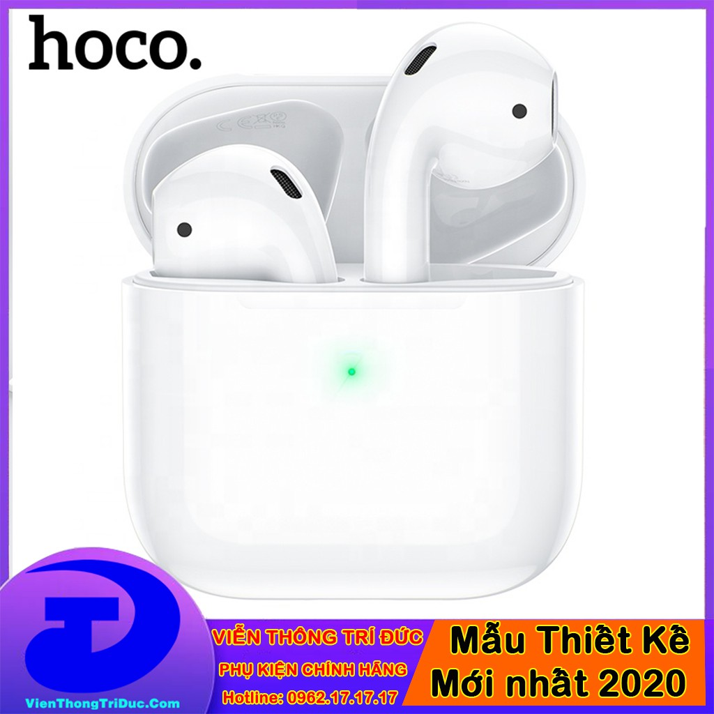 [HOT 2020] Tai Nghe True Wireless Mini Hoco ES46 Cool Pro V5.0 - Âm Chuẩn - Pin 3h - Định Vị-Đổi Tên- Pop-up Trên iPhone