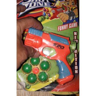 Mô hình đồ chơi bắn bi bằng nhựa K20