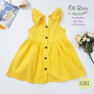 Váy cánh tiên cài cúc Oli River cho bé từ 2y-6y