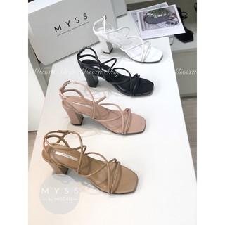 Giày sandal chéo 2 lần 7cm Myss - SD86 thumbnail