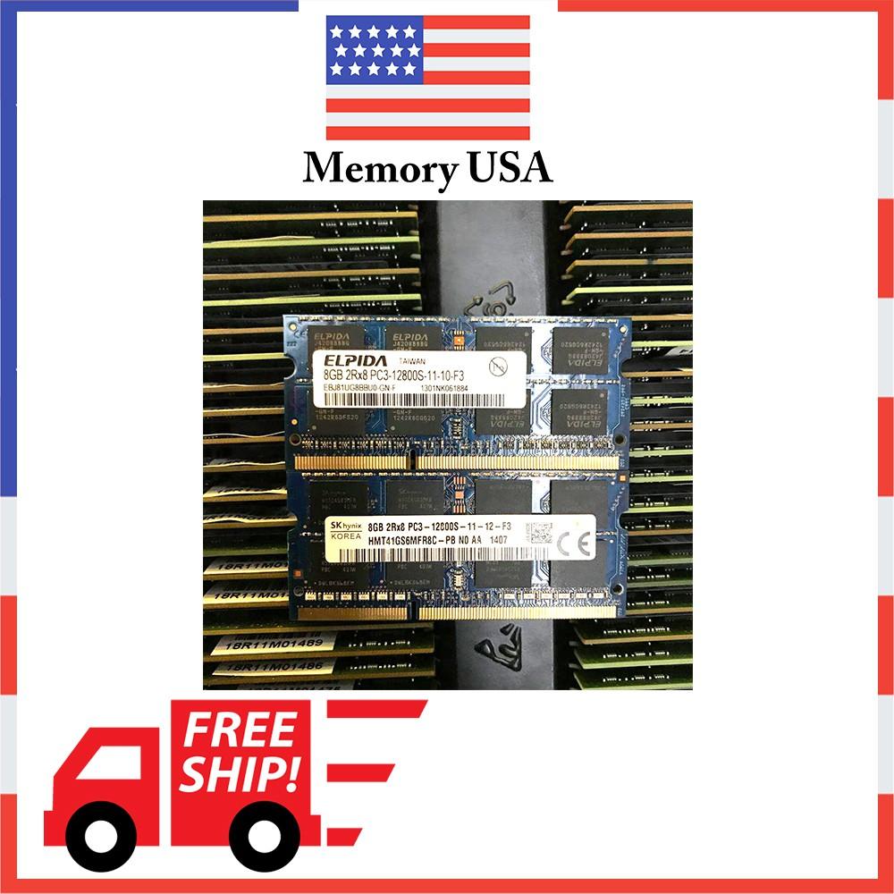 Ram Laptop DDR3 8GB Bus 1600 ( 1,5V) Giá chỉ 850.000₫